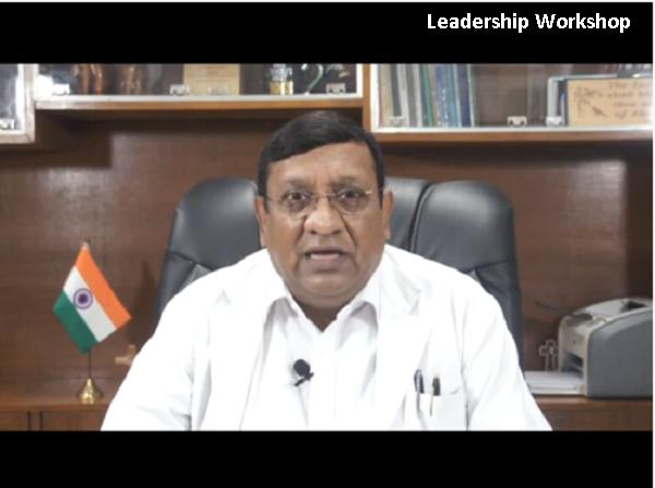Leadership Workshop Sept.2020, Director speech
