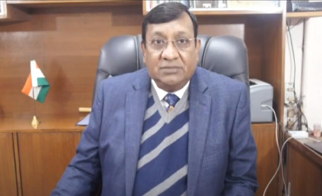 Christmas Message 2020- Dr. Sudhir C. Joseph, Director